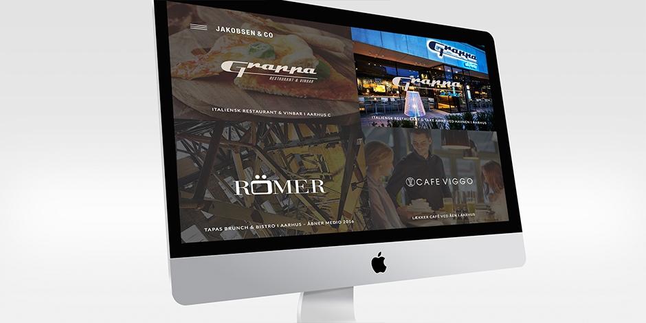 Responsivt website